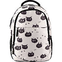 Рюкзак школьный с котами GoPack Education 131-1