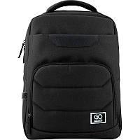 Рюкзак молодежный GoPack Сity 144-2 черный