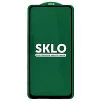 Защитное стекло SKLO для Xiaomi Redmi Note 9 / Redmi 10X (Black)