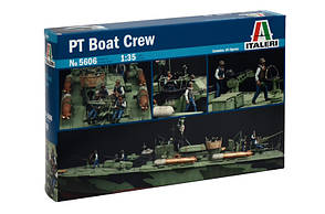 Экипаж торпедного катера. Набор фигурок в масштабе 1/35. ITALERI 5606