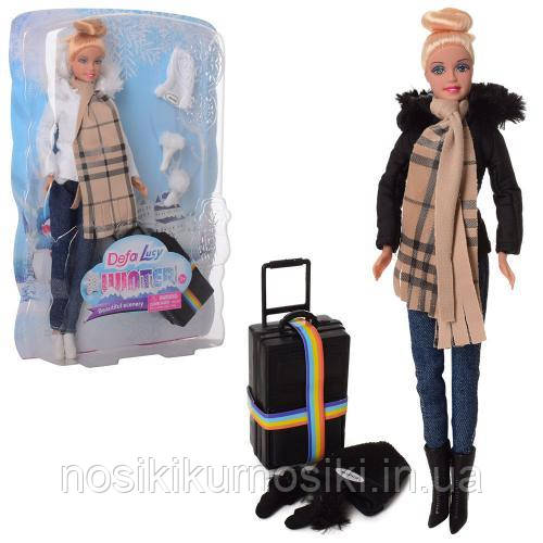 Лялька Defa Дефа 8424 Зимовий стиль