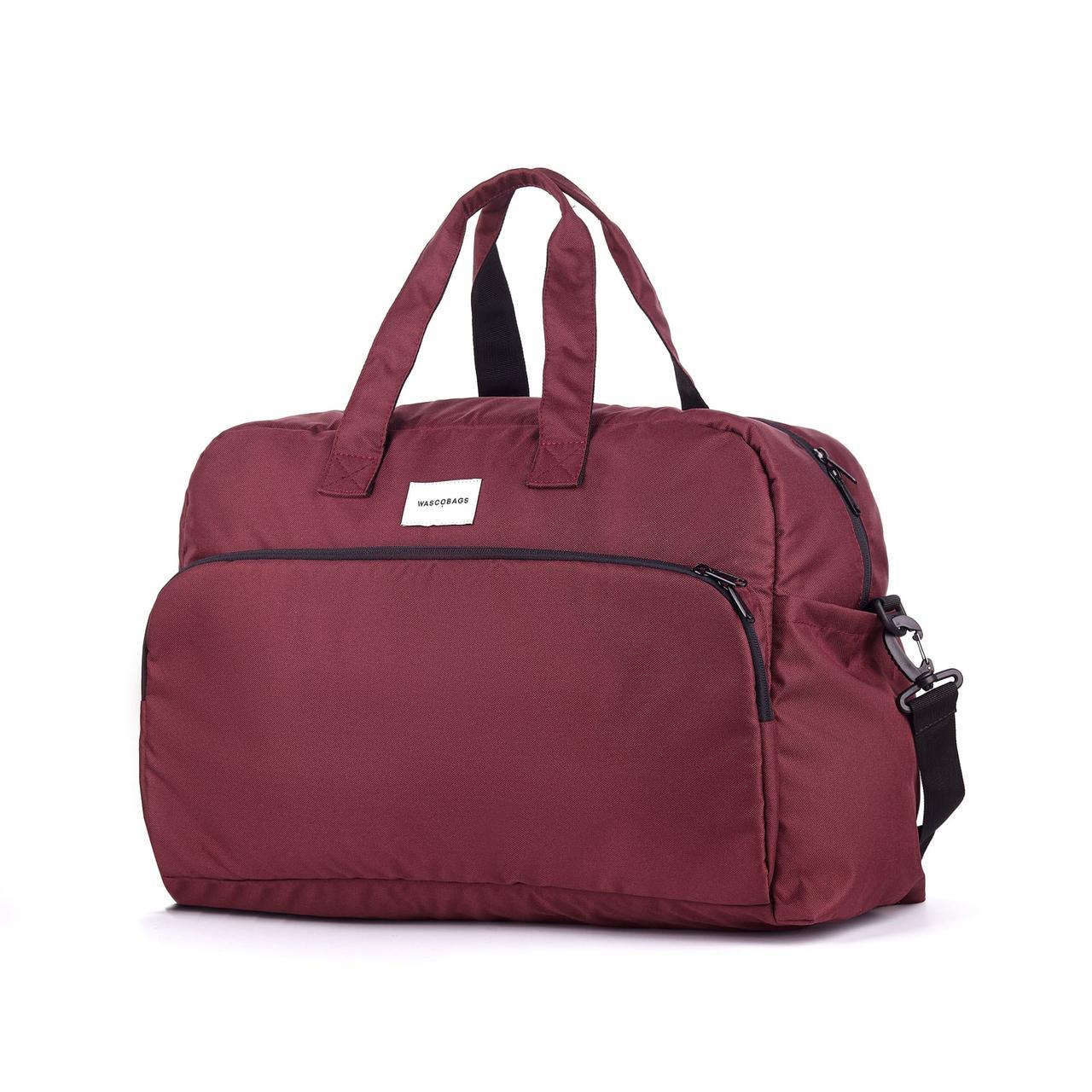Дорожная сумка Wascobags Milano Бордо (33 L)