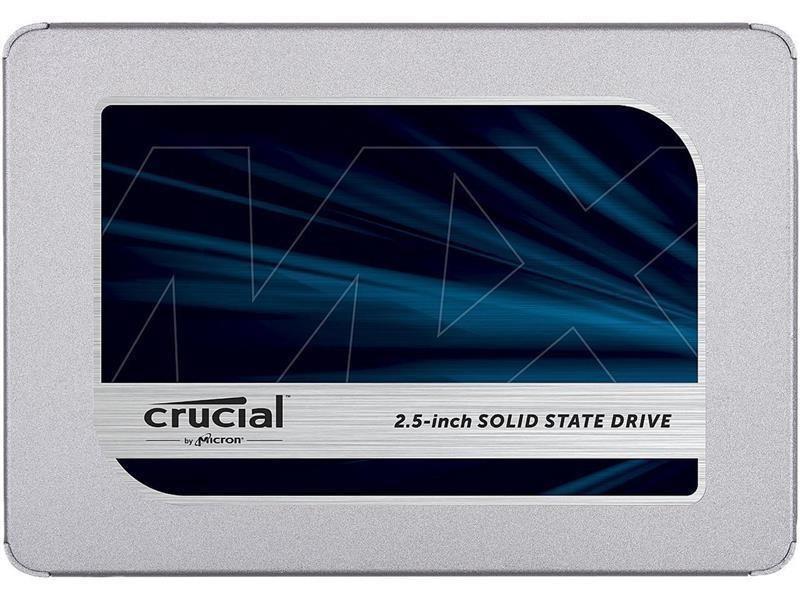 "Накопитель SSD 500GB Crucial MX500 2.5"" SATAIII 3D TLC (CT500MX500SSD1)"