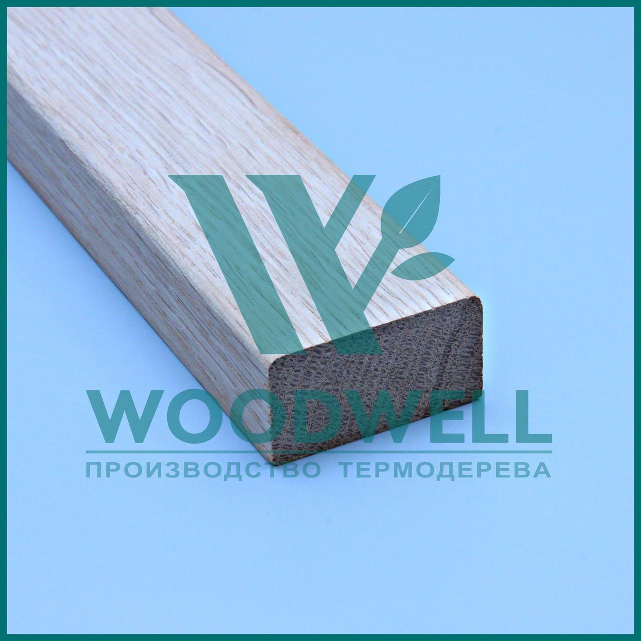 Декор рейка дуб - брус Дуб - Woodwell