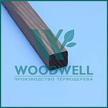 Декор рейка Термоясень - брус Ясень - Woodwell