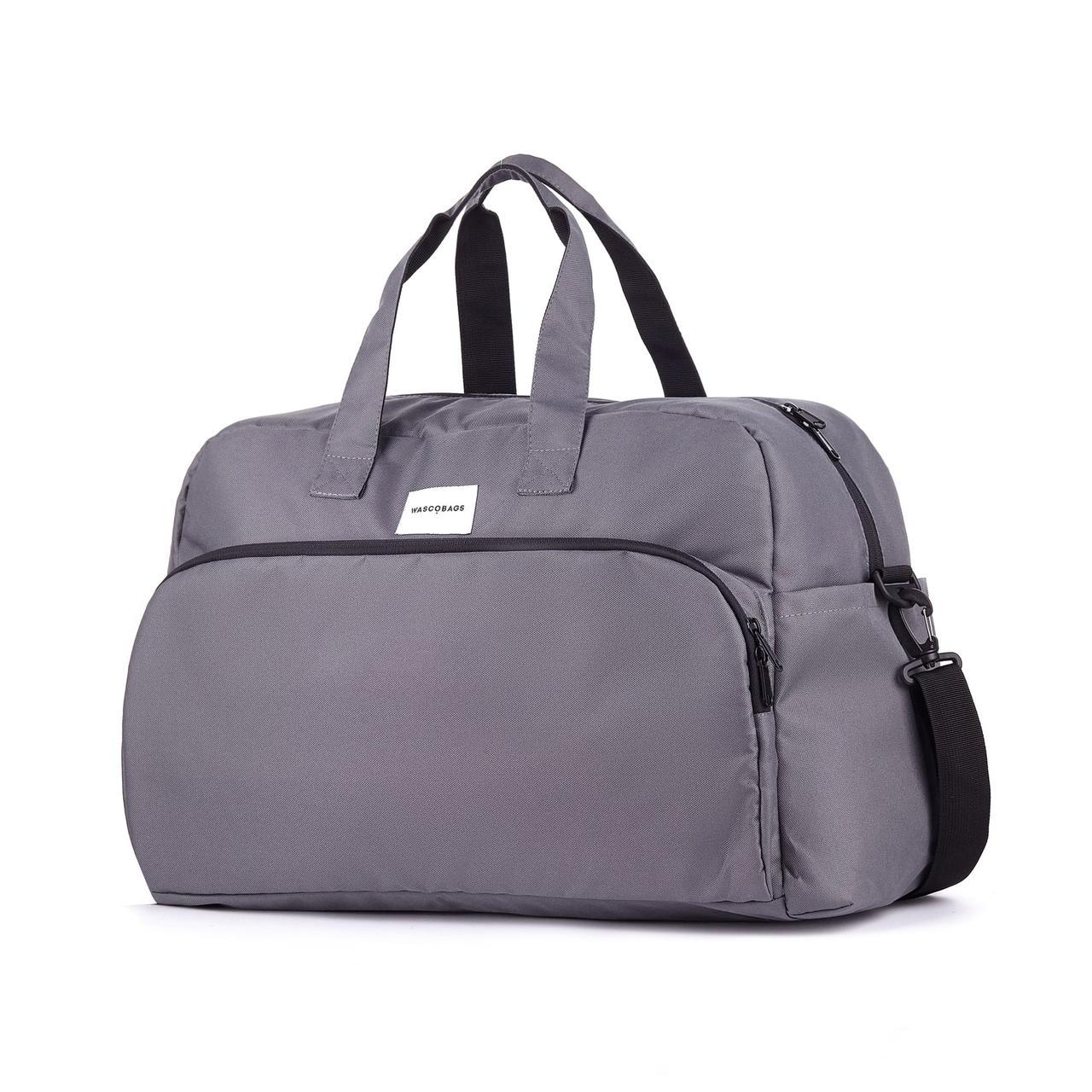 Дорожная сумка Wascobags Milano Серая (33 L)