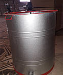 Медогонка 3-х рам поворотная алюмоцинковая (под рамки Дадан), фото 2