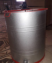 Медогонка 3-х рамочная поворотная алюмоцинковая (под рамки Дадан)