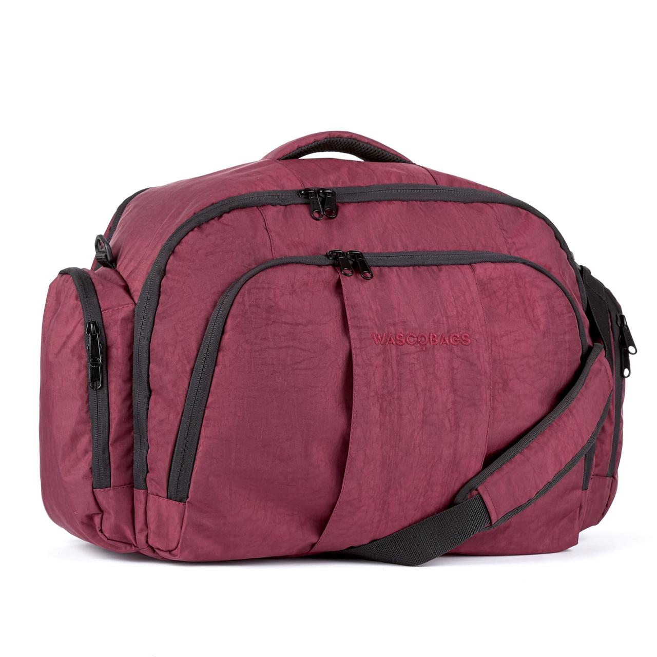 Дорожная сумка Wascobags Atlantic 55х35х20 Bordo (39 L), ручная кладь