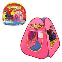 RUS Палатка 889-75B Spider Man в сумке 100*90*90