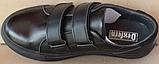 Кроссовки детские на липучках черные от производителя модель СЛТ05, фото 4