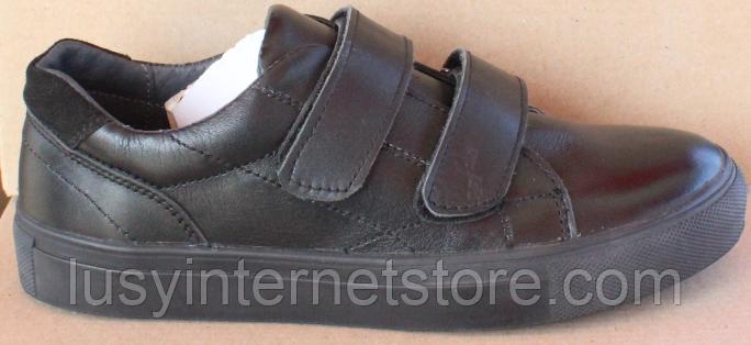 Кроссовки детские на липучках черные от производителя модель СЛТ05