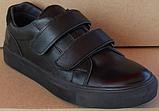 Кроссовки детские на липучках черные от производителя модель СЛТ05, фото 2