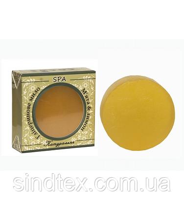 Глицериновое мыло SPA мята лимон Cocos 100 гр (7247), фото 2