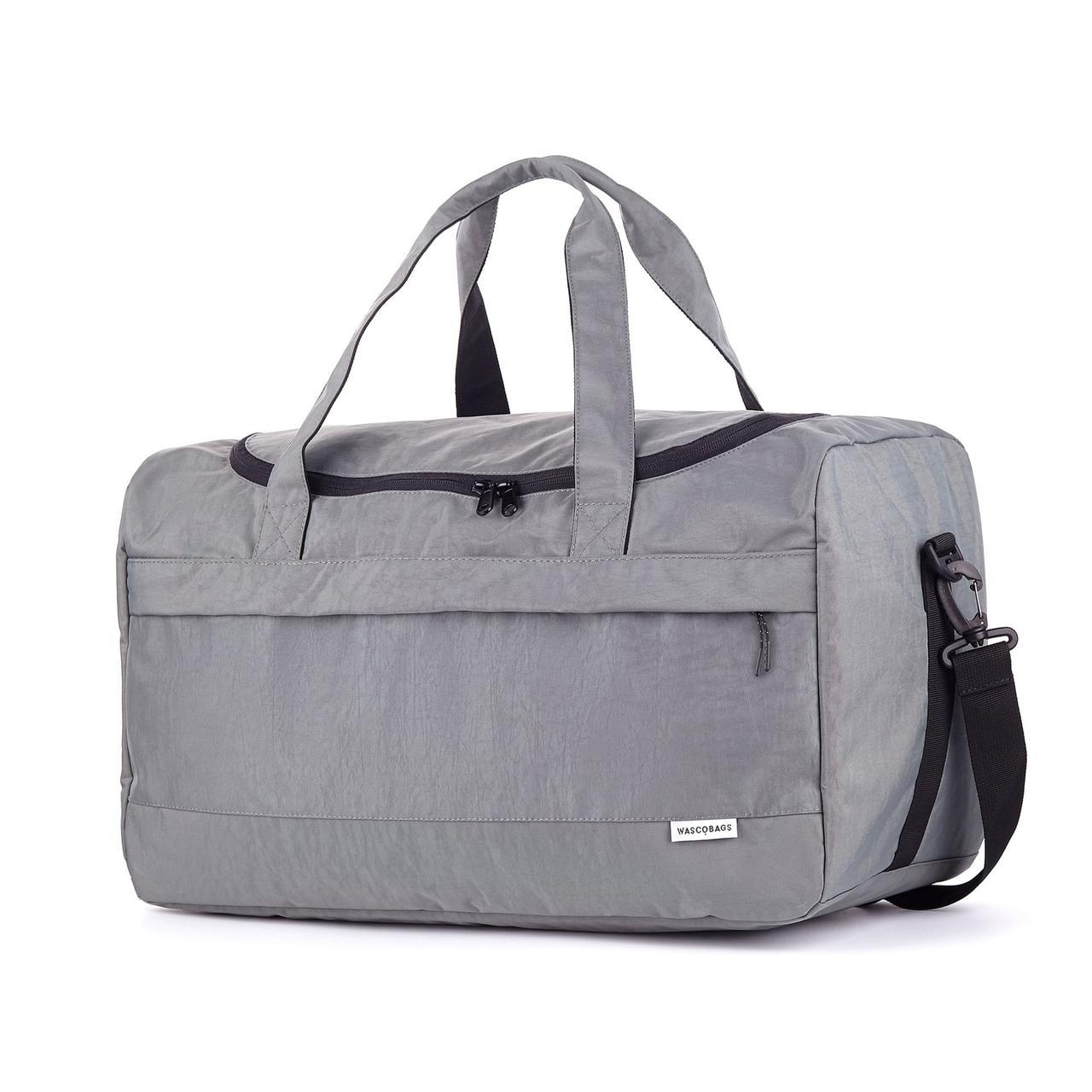 Дорожная сумка Wascobags Warsaw Серая (34 L)