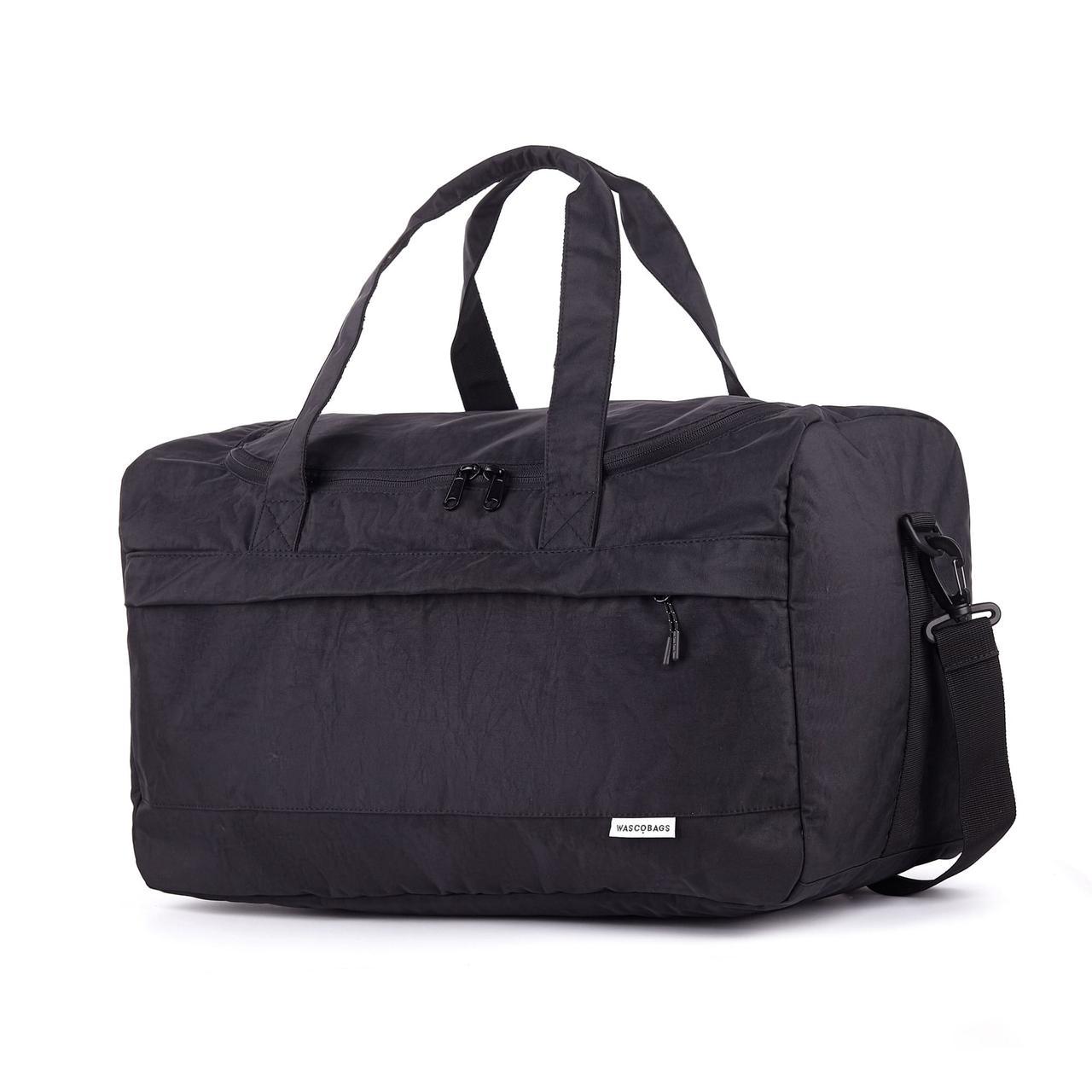 Дорожная сумка Wascobags Warsaw Черная (34 L)