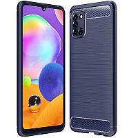 TPU чехол Slim Series для Samsung Galaxy A31 Blue