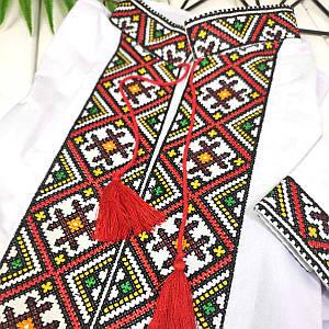 Вышиванка с цветной вышивкой Орнамент-Колорит