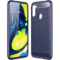 TPU чехол Slim Series для Samsung Galaxy A21 Blue