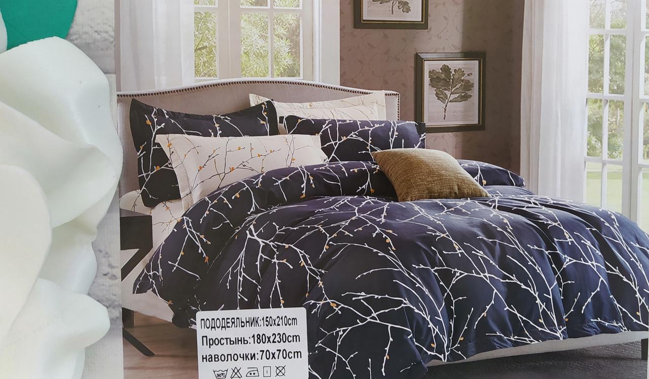 Евро комплект постельного белья сатин. Luxury Classic  Турция