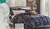 Евро комплект постельного белья сатин. Luxury Classic  Турция, фото 1