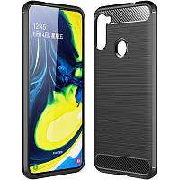 TPU чехол Slim Series для Samsung Galaxy A21 Black