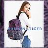 Рюкзак городской подростковый с пеналом Runningtiger, фото 3