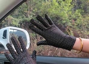 Женские перчатки весенне - летние перчатки