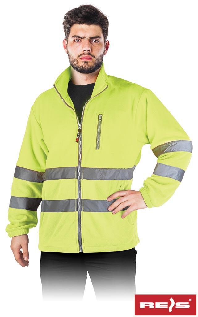 Куртка робоча чоловіча з светоотражаючимы смугами REIS POLSTRIP Y