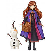 Кукла Hasbro Frozen Холодное сердце 2 Анна с аксессуарами (E5496_E6661)