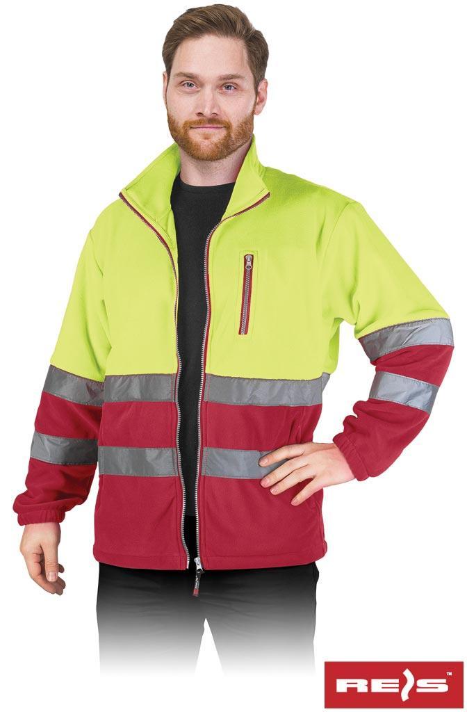 Куртка робоча чоловіча з светоотражаючимы смугами REIS POLSTRIP YC