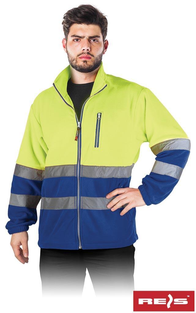 Куртка робоча чоловіча з светоотражаючимы смугами REIS POLSTRIP YN
