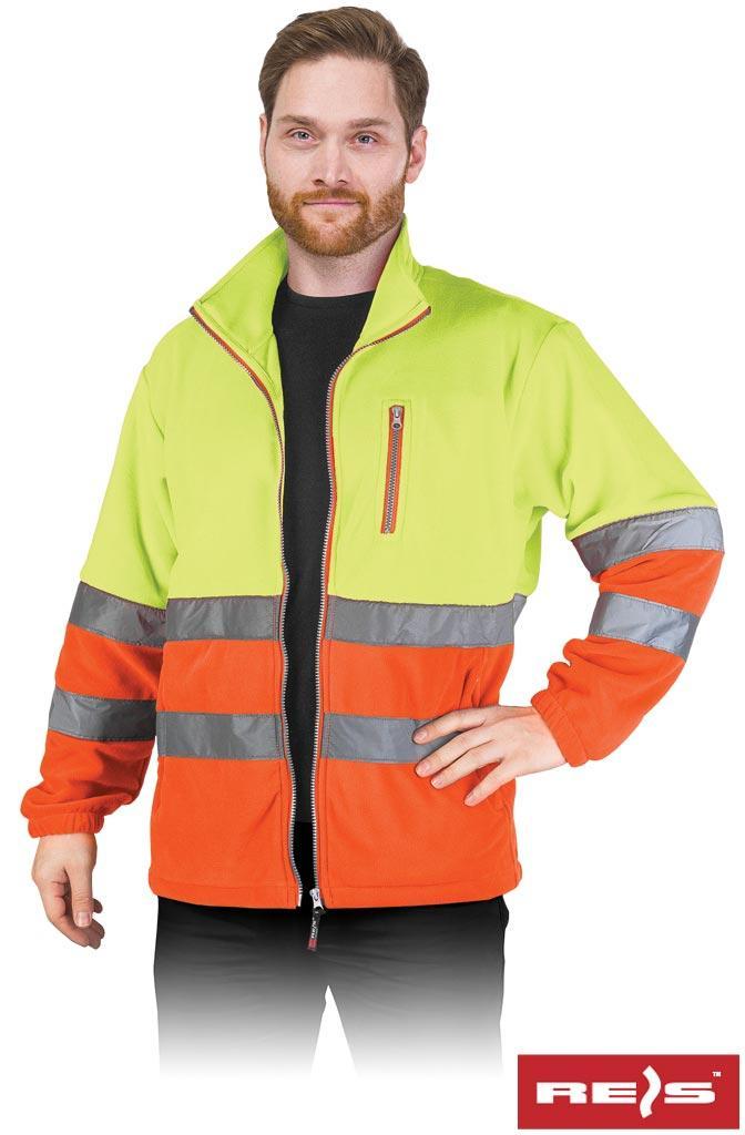Куртка робоча чоловіча з светоотражаючимы смугами REIS POLSTRIP YP