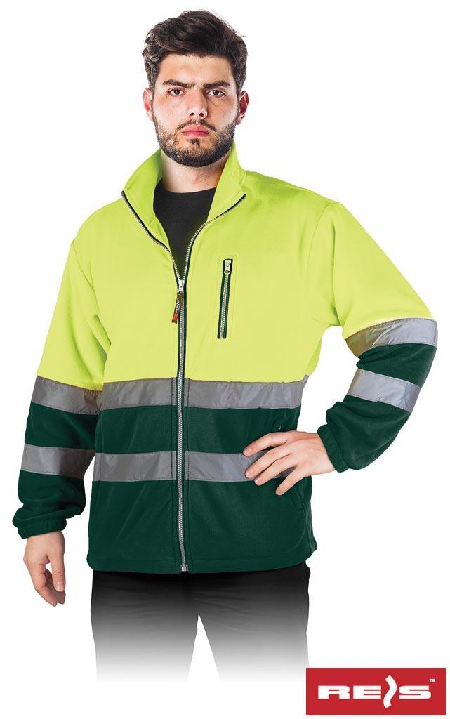 Куртка рабочая мужская с светоотражаючимы полосами REIS POLSTRIP YZ