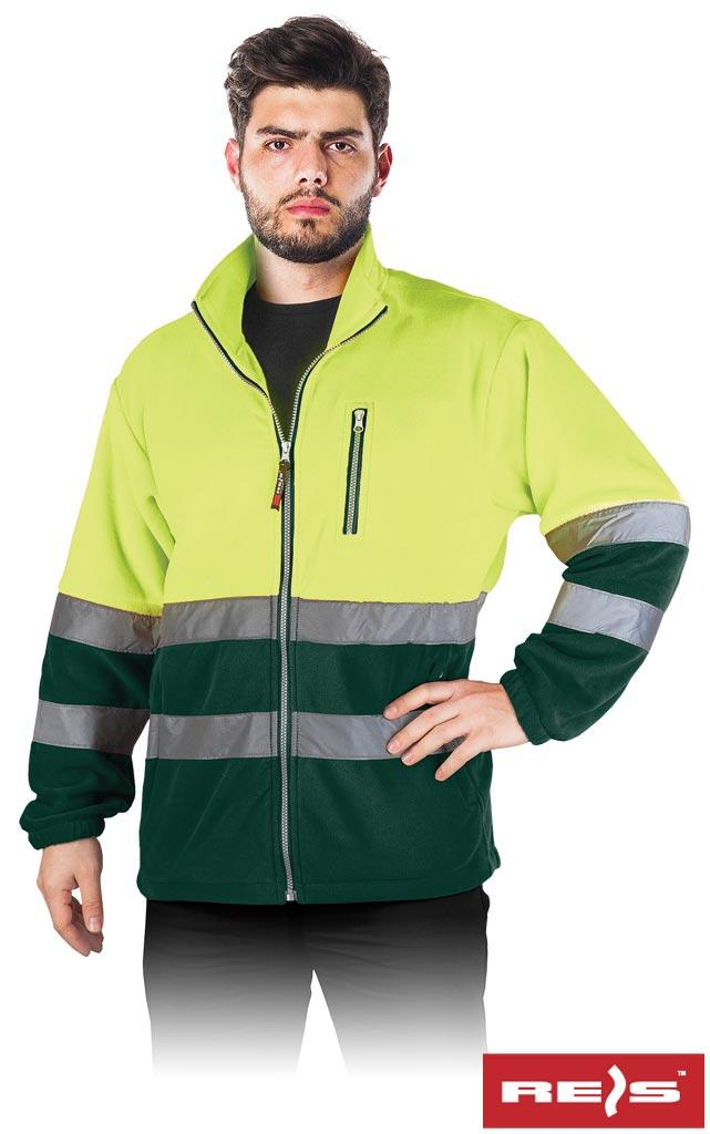 Куртка робоча чоловіча з светоотражаючимы смугами REIS POLSTRIP YZ
