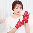 Мереживні рукавички Кружевные перчатки, фото 2
