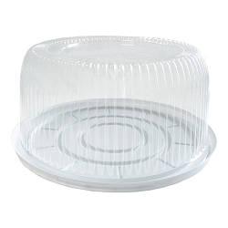 Блистерная упаковка ПС-230 с крышкой для тортов - 20 шт, 0.5 кг
