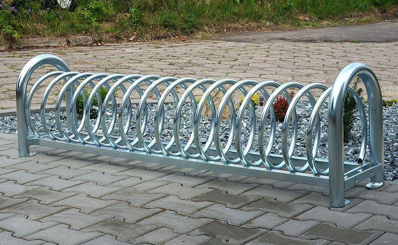 Велопарковка на 6 велосипедов Viro-6 Stand Польша