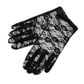 Мереживні рукавички Кружевные перчатки