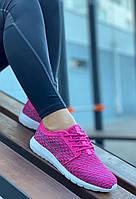 Кроссовки женские (ПЕНА) 8 пар в ящике розового цвета 36-41, фото 5