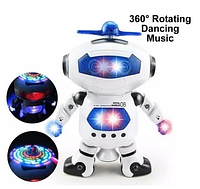 Интерактивная игрушка робот DANCE , Танцующий светящийся робот Dancing Robot