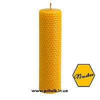 """Восковая свеча из вощины """"Wax candles 210х40 мм"""""""