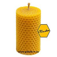 """Восковая свеча из вощины """"Wax candles 120х40 мм"""""""