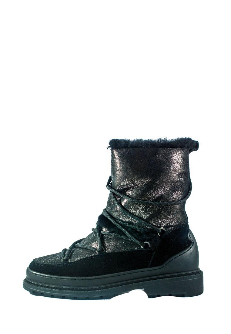 Черевики зимові жіночі Allshoes чорний 21076 (36)