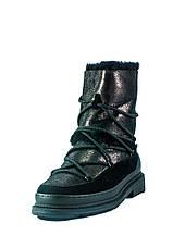 Черевики зимові жіночі Allshoes чорний 21076 (36), фото 3