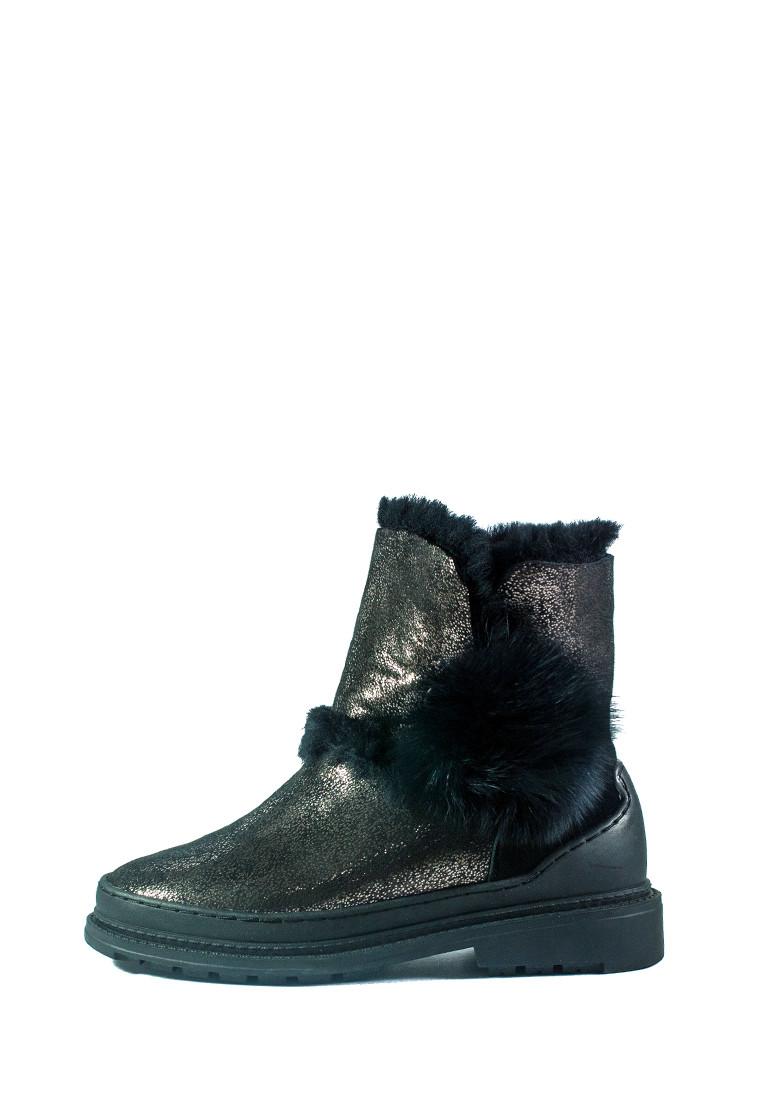 Черевики зимові жіночі Allshoes чорний 21074 (36)