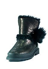 Черевики зимові жіночі Allshoes чорний 21074 (36), фото 3