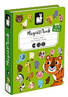 Магнитная книга Janod животные