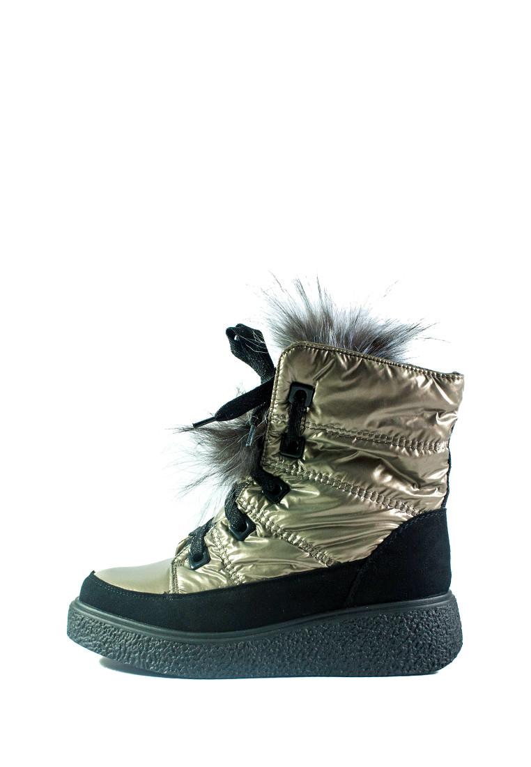 Ботинки зимние женские Prima D'arte СФ 1480-F622-3 бежевые (36)