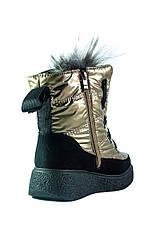 Ботинки зимние женские Prima D'arte СФ 1480-F622-3 бежевые (36), фото 2